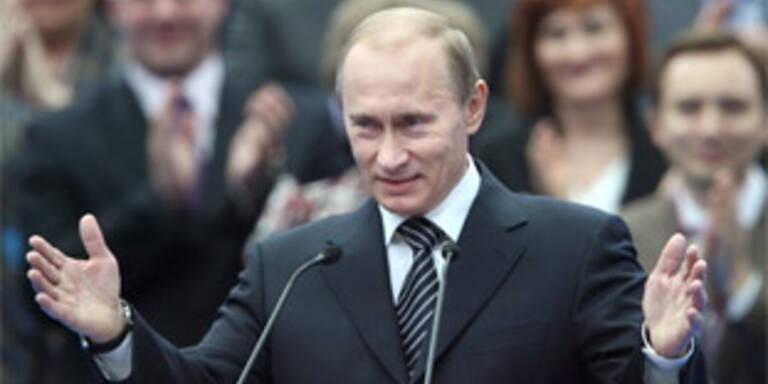 """Putin übernimmt Parteivorsitz von """"Geeintes Russland"""""""