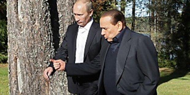 Putin bei Berlusconis Sex-Partys zu Gast?
