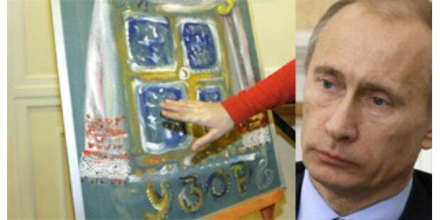 Putin versuchte sich nun auch als Künstler