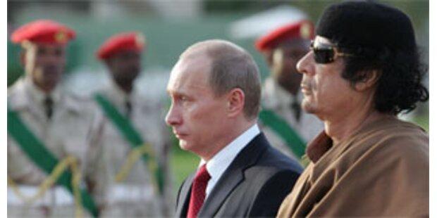 Putins letzte Präsidentenreise führt nach Libyen