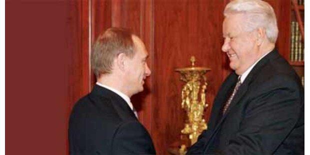 Putin hielt Jelzin fast wie Gefangenen