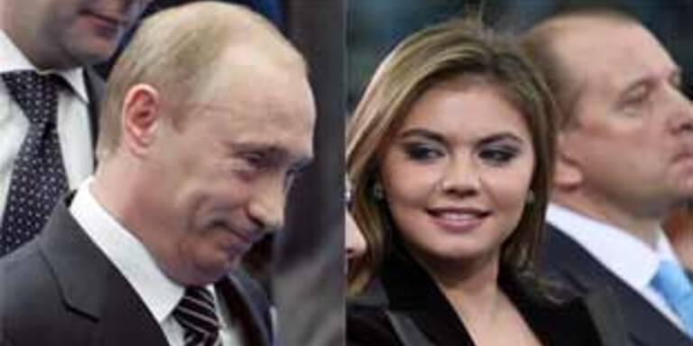 Putin und Kabajewa