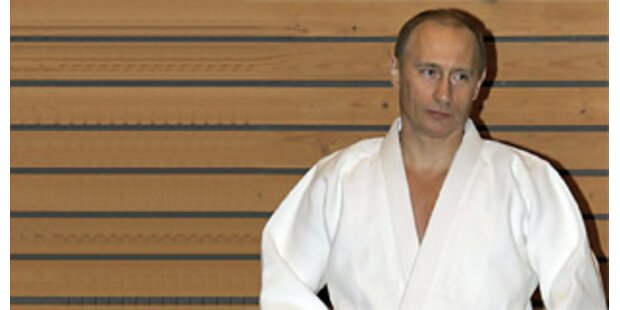 Putin präsentierte sich als Kampfsportler