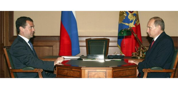 Medwedew hat keine Angst vor neuem Kalten Krieg