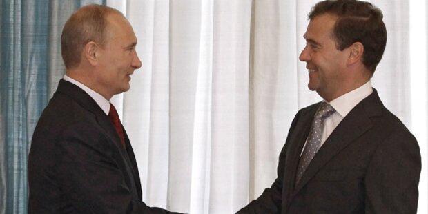 Putin wird 2012 wieder Präsident