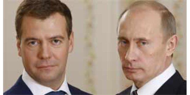 Putin stellte neues Kabinett vor