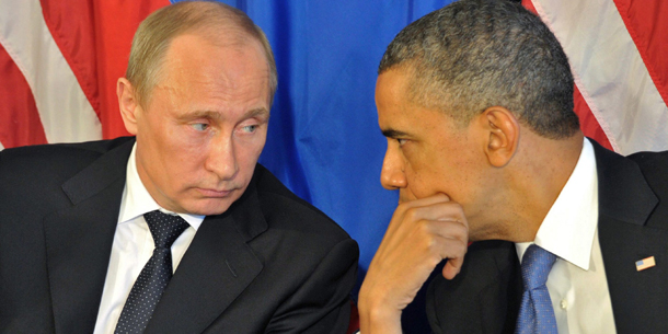 Barack Obama Wladimir Putin