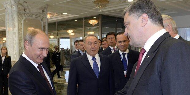 Ukraine: Putin und  Poroschenko planen Treffen