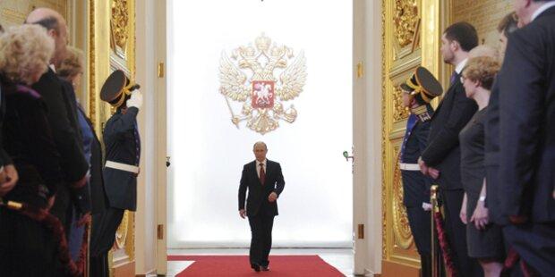 Wladimir Putin wieder russischer Präsident
