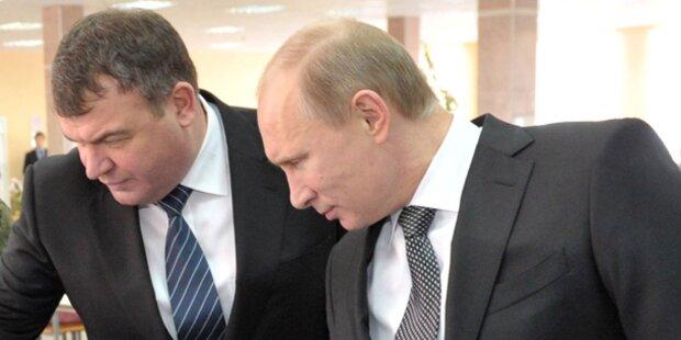 Putin feuert seinen Verteidigungsminister