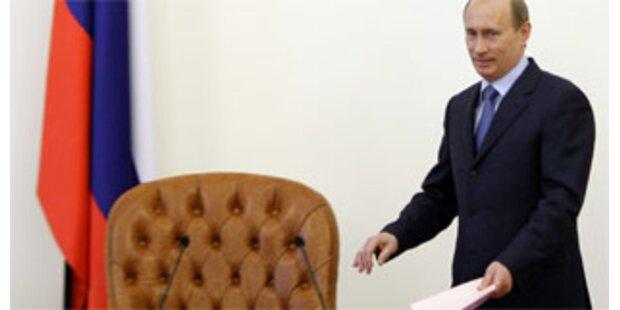 Putin wollte Präsidentensessel im Kreml behalten