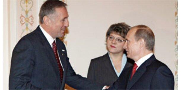 Russland stimmt Abkommen über Gas-Kontrollore zu