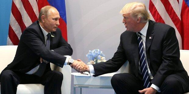 Putin könnte Trump im November in Paris treffen