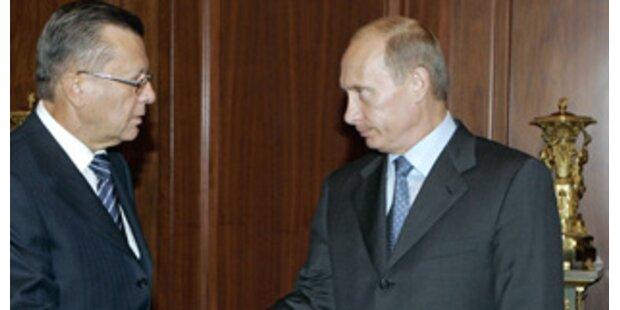 Putin ernennt neue Regierung in Russland
