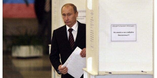 Souveräner Sieg für Putin-Partei
