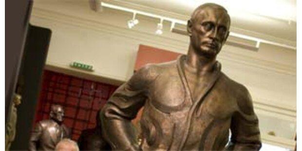 Schwarzgürtel-Träger Putin gibt Judo-DVD heraus