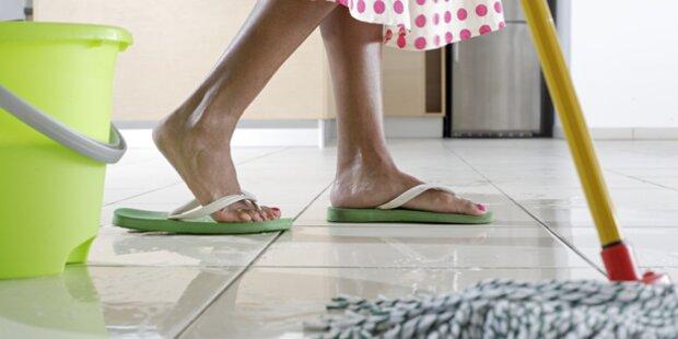 Weniger Hausarbeit macht Frauen dick