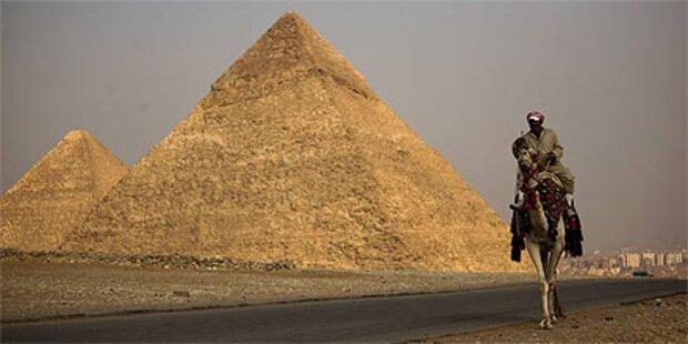 Forscher entdecken Sensation in Pyramide