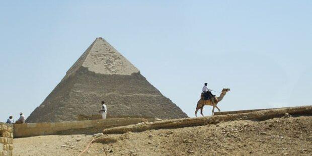 Islamist will Pyramiden und Sphinx zerstören