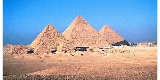 Rätsel um Pyramiden von Gizeh endlich gelöst