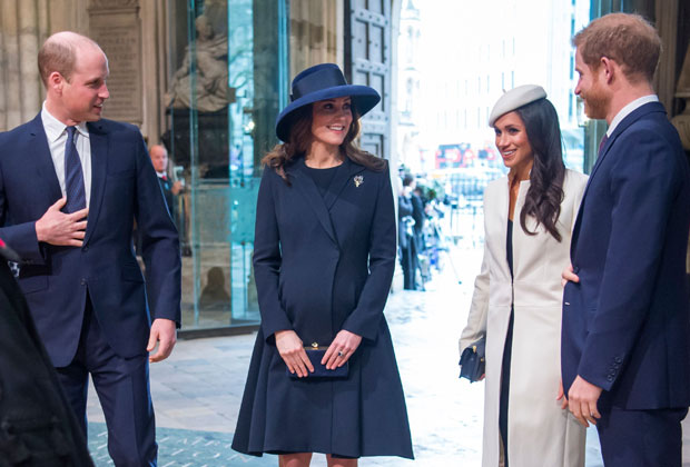 Will Kate Meg Harry Westminster Abbey