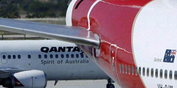 Qantas-Boeing 8.000m abgesackt