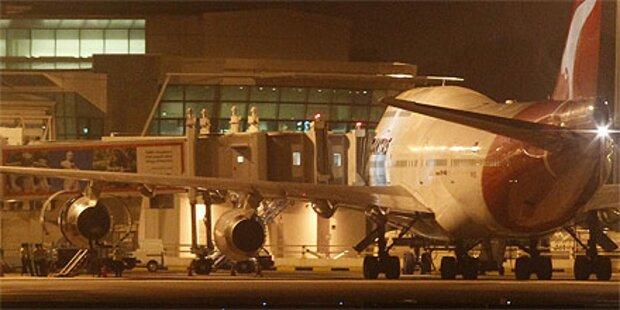 Wieder Qantas-Jet notgelandet