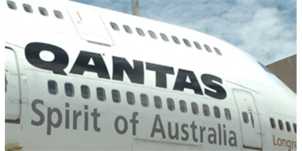 Schon wieder Zwischenfall mit Qantas-Flugzeug