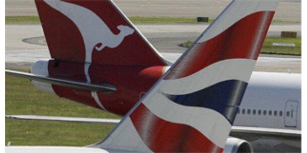 BA und Qantas fusionieren nicht