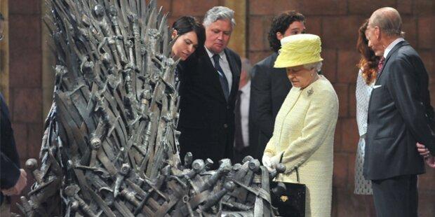 Die Queen besucht
