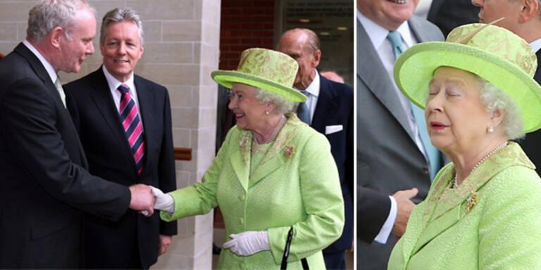 Die Queen trifft ehemaligen IRA-Terroristen