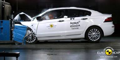 Crashtest: China-Auto schafft Bestnote