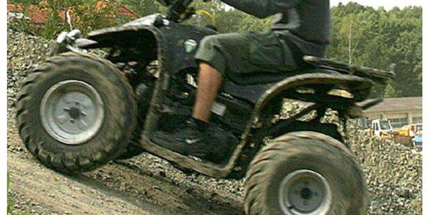 Bursch nach Quad-Unfall in Lebensgefahr