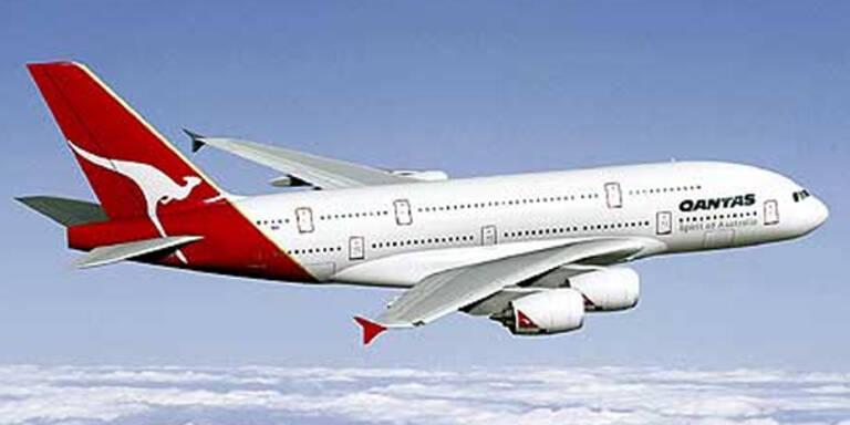 Qantas stellte wegen Streiks Flugbetrieb ein