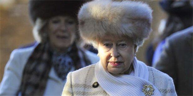 Queen feierte ohne Kate und William