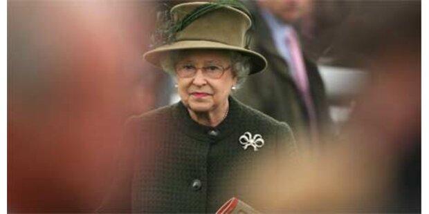 Queen durfte nicht in ihre Loge