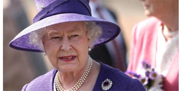 Unbekannter stahl Besteck der Queen