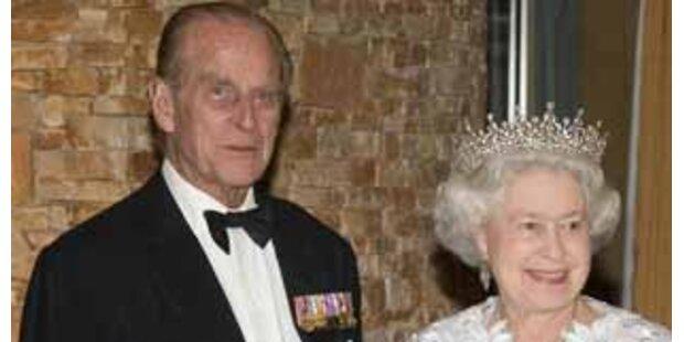 Britischer Prinz Philip im Krankenhaus