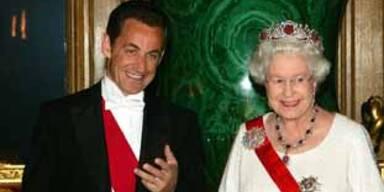 Nicolas Sarkozy, Königin Elizabeth II.