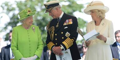 Queen Elizabeth Prinz Charles Camilla