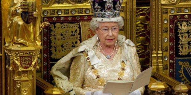 Queen verkündet neuen Regierungskurs