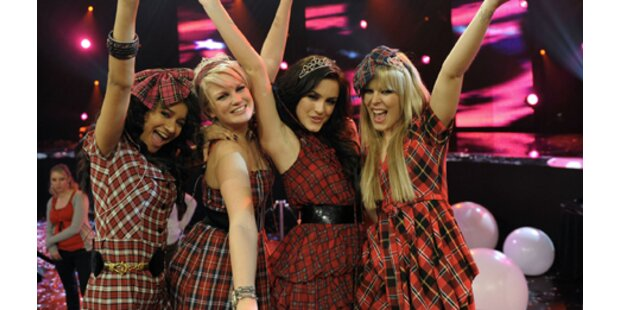 Popstars: Queensberry endlich komplett!
