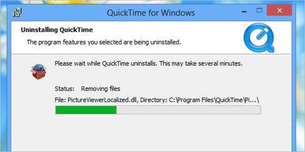 Vorsicht: QuickTime sofort deinstallieren