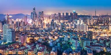 ostchinesische Küstenmetropole Qingdao