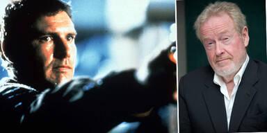 Harrison Ford in Blade Runner und Ridley Scott