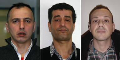 Polizei sucht Opfer dieses Gangster-Trios