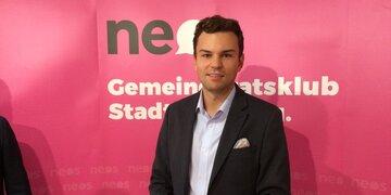 Neuer NEOS-Stadtrat: Lukas Rößlhuber folgt Unterkofler nach