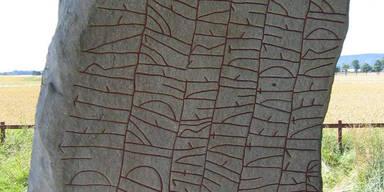 Errichteten Wikinger Runenstein aus Angst vor Klimakatastrophe?