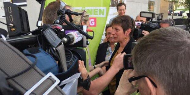 Wahlfeier unter Tränen bei den Grünen