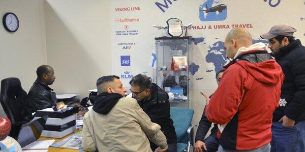 Irakische Flüchtlinge verlassen Finnland
